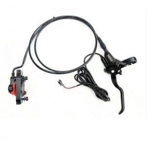 מעצור דיסק ברקס אחורי שמן הידראולי *עם ניתוק* לאופניים חשמליים