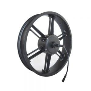 זוג גלגלי מגנזיום בלון פאטבייק מנוע 500 48V לאופניים חשמליים EBMAX