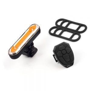 מערכת איתותים אלחוטית אופניים נטען USB