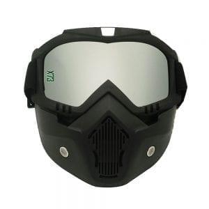 מסיכת בוץ ומשקפי אבק לאופנועי שטח וטרקטורונים X73