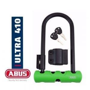 """מנעול פרסה ABUS – Ultra 410 [ירוק] 300 מ""""מ"""