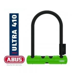 """מנעול פרסה ABUS – Ultra 410 [ירוק] 230 מ""""מ"""