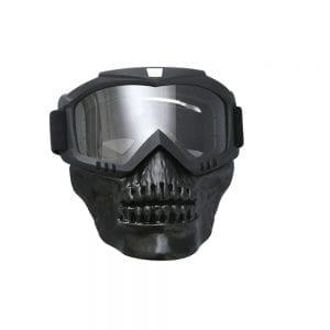מסיכת בוץ לשטח ומשקפי אבק לאופניים אופנועים וטרקטורונים MADMASK